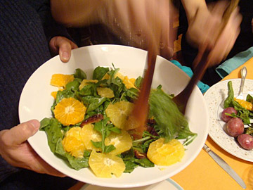 Arugula Salad with Dates and Oranges